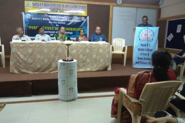 "One Day Seminar On ""PERSPECTIVES OF MICROBIOLOGY"""