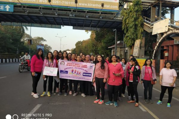 National Dietetics Day Celebration – Walkathon