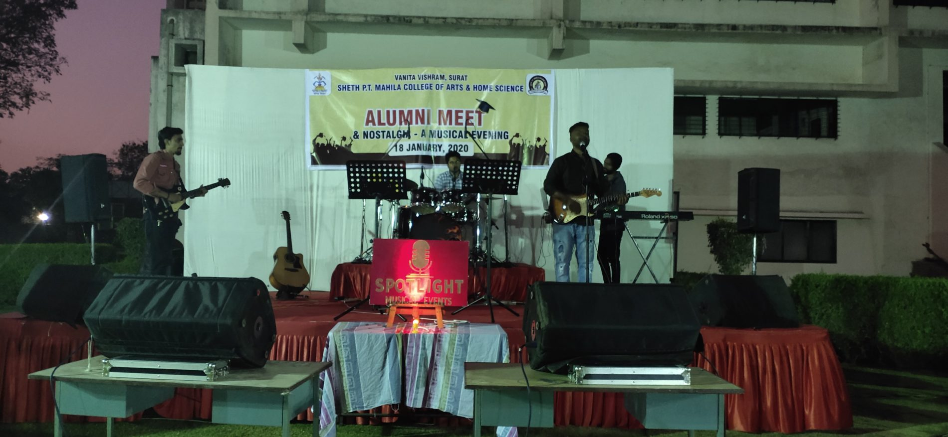 Alumni Meet 2019-2020 NOSTALGIA- A MUSICAL EVENING